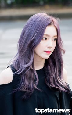 [POLL Round 50 shades of purple: Who looks best in purple hair? Red Velvet アイリーン, Irene Red Velvet, Velvet Hair, Girl Hair Colors, Ombre Hair Color, Ash Purple Hair, Seulgi, Korean Hair Color, Kpop Hair Color