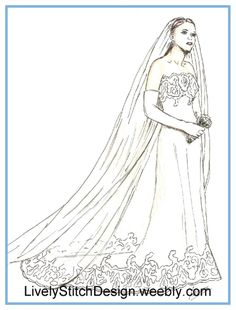 """The Wedding Day / sewing pattern for the 21"""" Modern Cissy by Madame Alexander"""