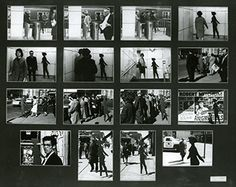 "Michael Snow reprises the iconic figure of the Walking Woman here taking the figure out of the studio to be photographed among pedestrians on the Toronto streets. ""Four to Five,"" 1962, Art Gallery of Ontario; shot in Toronto."