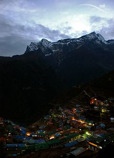 Namche is the main trading center for the Khumbu region with many Nepalese officials, a police check, post and a bank.