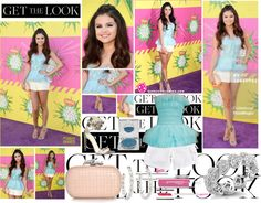 """""""Get The Look - Selena Gomez   2013 Kids' Choice Awards"""" by gladylyne ❤ liked on Polyvore"""
