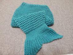 Manta de COLA DE SIRENA a Crochet - tutorial paso a paso - YouTube
