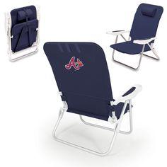 Atlanta Braves Beach Chair - Monaco by Picnic Time