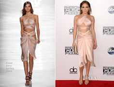 Jennifer Lopez attended the 2014 American Music Awards, hosted on Sunday (November 23) at the Nokia Theatre L.A. Live in Los Angeles, California. She was t