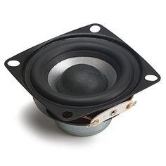 DROK® 2 Zoll 12W HIFI Full Range Lautsprecher mit Subwoofer, 4Ω Lautsprecher mit 88dB hohe Empfindlichkeit, Voll Home Woofer Stereo Lautsprecher geeignet für DIY Desktop Lautsprecher sieht in Design, Funktionen und Funktion gut aus. Die beste Leistung dieses Produkts ist in der Tat einfach zu reinigen und zu kontrollieren. Das Design und das Layout sind absolut erstaunlich, die es wirklich interessant und schön machen.....