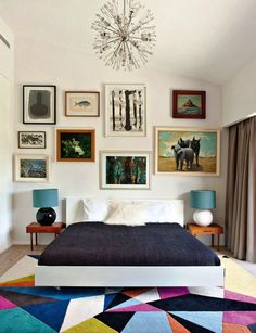 Vibrant Vignettes // Bright Bedroom - The Effortless Chic