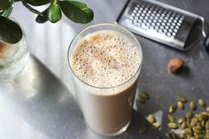 Banana Smoothie with Nuts and Seeds