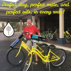#living in the #moment Deep Blue Doterra, Bicycle, In This Moment, Bike, Bicycle Kick, Bicycles