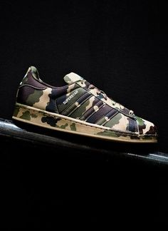 adidas Originals Superstar Camo ♥ Add to your board. :)