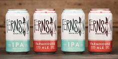 When Fernson Brewing Co. approached CODO Design, they'd actually already  worked through a completely unsuccessful branding process with another  firm.