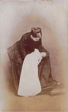 An End Before a Beginning, Post-Mortem Scottish Albumen Carte de Visite, Circa 1872