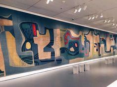 Exposição incrível de Burle Marx em New York #paisagismo #burlemarx #newyork