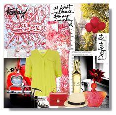 """Floral Pants"" by debpat on Polyvore featuring Blugirl, RED, Dorothy Perkins, Antica Murrina, Giuseppe Zanotti, Furla and Helen Kaminski"