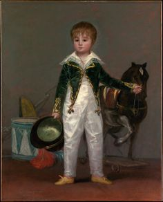 https://flic.kr/p/hYbmoB | José Costa y Bonells, called Pepito | c. 1810. Oil on canvas. 105,1 x 84,5 cm. The Metropolitan Museum of Art, New York. 61.259.