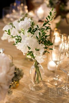 lovely simple centrepiece