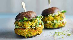 Image: Mushroom burger