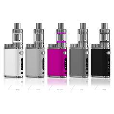 Original New Eleaf iStick Pico 75W Kit Black White Gray Pink Series Starter Kits Sep Up! http://www.jvsurfvape.com/originalneweleafistickpico75wkitpink_p0149.html