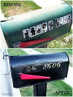 Mailbox redo - I so need to do this!