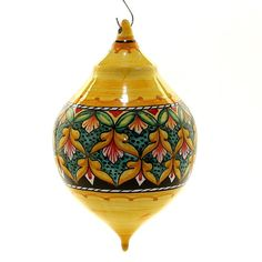 CHRISTMAS ORNAMENT: Deruta Vario Ball Drop Large