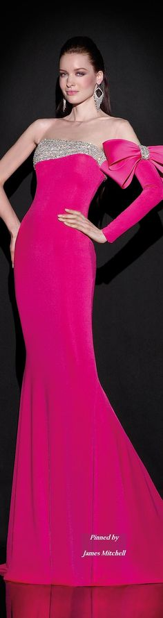 This gown from the Tarik Ediz 2015 Collection screams unique! http://thepageantplanet.com/category/pageant-wardrobe/