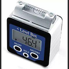 Medidor nivel Digital inclinómetro transportador 180 Degree