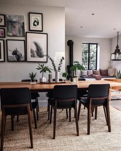 open plan kitchen diner with seating area. - open plan kitchen diner with seating area. Dining Room Design, Interior Design Living Room, Dining Area, Living Room Decor, Dining Chairs, Dining Rooms, Design Interiors, Dining Room Inspiration, Home Decor Inspiration