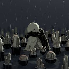 M Anime, Dark Anime, Anime Art, Dark Art Illustrations, Illustration Art, Sun Projects, Deep Art, Arte Obscura, Sad Pictures