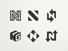 Neat Group - Logo Concepts designed by Adolfo Teixeira. Connect with them on Dribbble; the global community for designers and creative professionals. Crossfit Logo, Gym Logo, Logo Y, 3 Letter Logo, Laundry Logo, Identity, Logo Samples, Branding, Logo Design