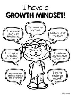 Growth Mindset Posters (w/Student Printables):