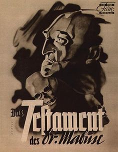 Dr. Mabuse - poster