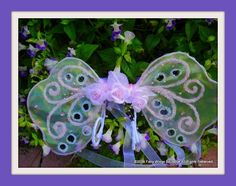 Charming Lavender Wings