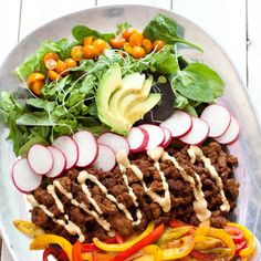 DASH Diet Recipes for Weight Loss – 9 Best Low-Sodium Recipes - dinner recipes - Low Salt Recipes, Dash Diet Recipes, Low Sodium Recipes, No Dairy Recipes, Meal Recipes, Recipes Dinner, Dinner Ideas, Paleo Taco Salad, Paleo Tacos
