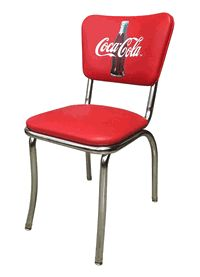 Coca-Cola Diner Chair  - click image to enlarge