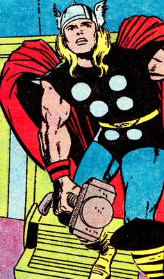 The Mighty Thor by Jack Kirby & Vince Colletta
