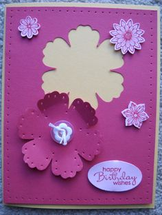 using new In colours from Stampin up