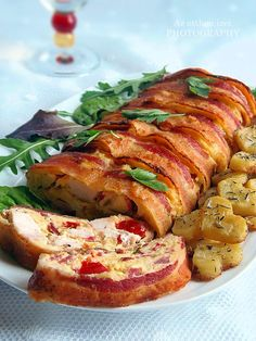 The home flavors: Chicken marble mustard, thyme potatoes Meat Recipes, Chicken Recipes, Dinner Recipes, Cooking Recipes, Cold Dishes, Good Food, Yummy Food, Hungarian Recipes, Hungarian Food