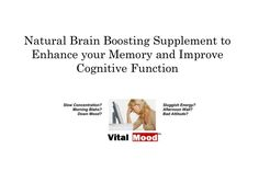 Brain, Natural supplements and Mood