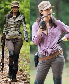 Image result for rosita walking dead cosplay