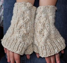 Natural Dyed Cabled Merino Girls Womens by eweandmehandmades, $25.00