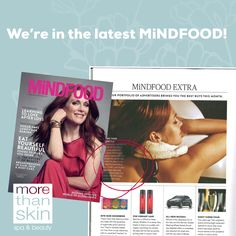We're in the latest MiNDFOOD magazine! Did you know that when you purchase any voucher over $100 this month from us you go in to the draw to win a beautiful bouquet of flowers delivered to your loved one's doorstep for Valentine's!