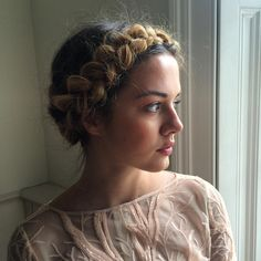 30 Marvelous Milkmaid Braid Styles — Pure Beauty Check more at http://hairstylezz.com/best-milkmaid-braid-styles/