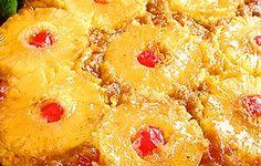 Ananaskakku #keikauskakku toimii myös upeasti happamista talviomenista tehtynä! Pineapple, Peach, Candy, Baking, Fruit, Recipes, Food, Pinecone, Peaches