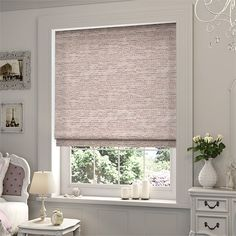Sophie Dusty Pink Roman Blind                                                                                                                                                                                 More