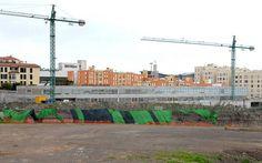 Obras para la construcción de un colegio en Siete Palmas