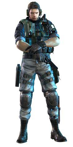 Resident Evil: Revelations - Chris Redfield
