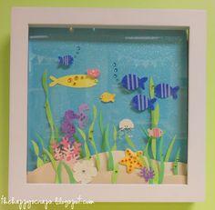 Diorama - fish aquarium