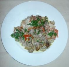 Protein: Chicken Breast with Mushrooms - Food Combining Diet