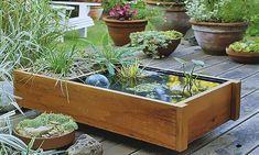 Výsledek obrázku pro malé vodní prvky v zahradě