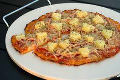Opskrift på Sund gulerodsbund til pizza – sund pizzabund