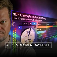 My SoundForFridayNight from the 12th of April 2019. THE CHAINSMOKERS feat. EMILY WARREN - Side Effects (Fedde Le Grand Remix) Weekend Song, Give You Up, Chainsmokers, The Dj, Electronic Music, Thing 1 Thing 2, Side Effects, Edm, Told You So